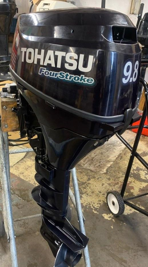 Tohatsu 9.8, outboard, best for inland waterways, river cruiser engine