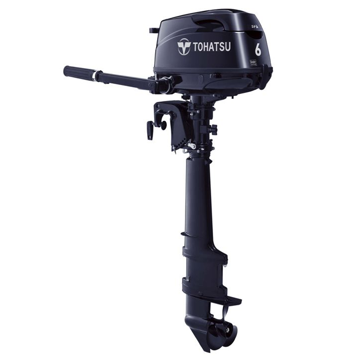 Tohatsu 6hp outboard, sail pro, lightest 6hp outboard, sailboat engine